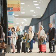 Queue At Airport Customs